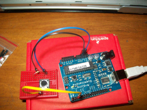 My first circuit with the Arduino